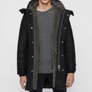 Pure Shearling Comfy Coat Men
