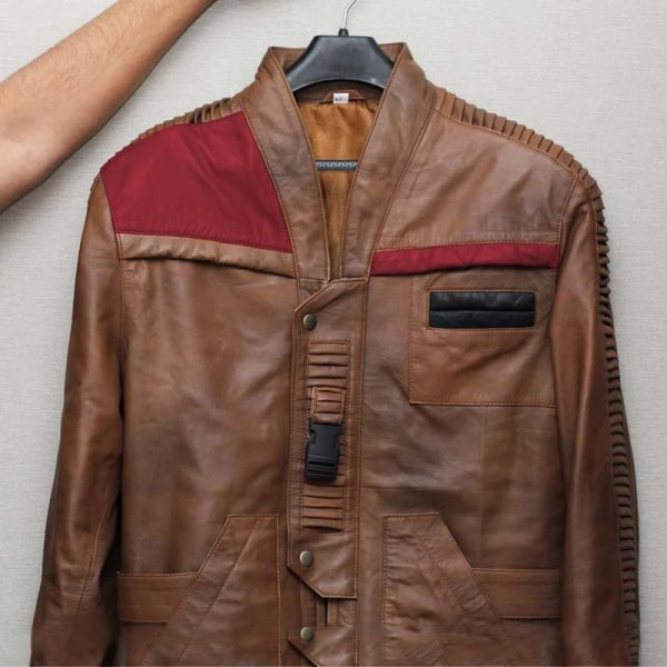 For mens Star Wars Brown leather Jacket style