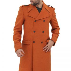 Randall Brown Mens Wool Coat available,