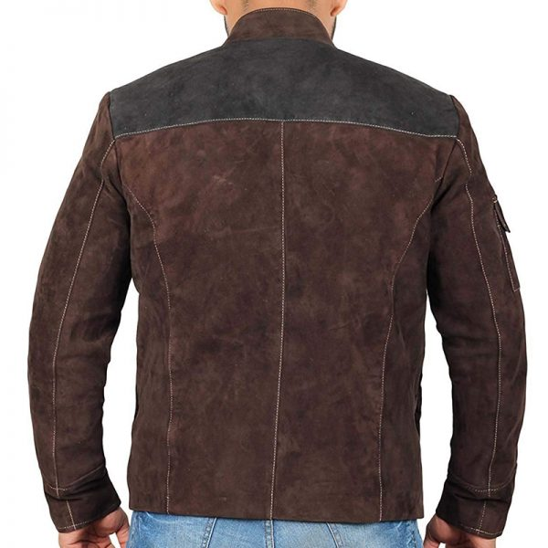 Solo A Star Wars Story Brown Leather Jacket