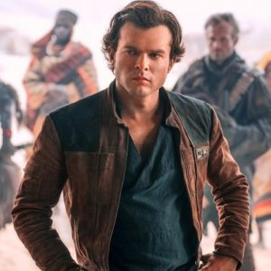 Brown Leather Jacket By Solo A Star Wars Story