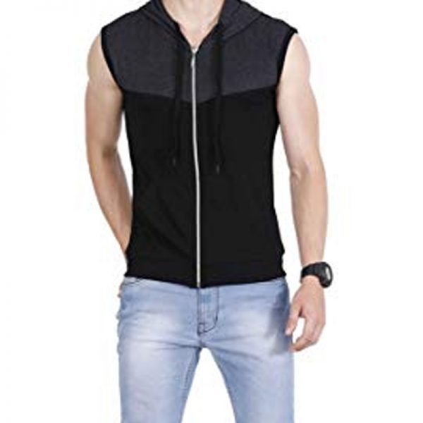 vest in cotton fabric looks smart to mens