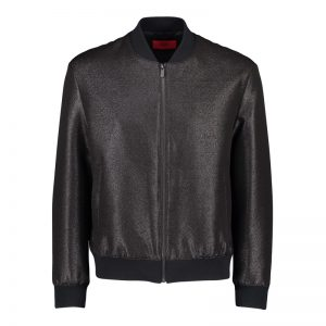 Black Color Leather Jacket Outfit