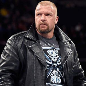 WWE Triple H Real Black Biker Leather Jacket online,