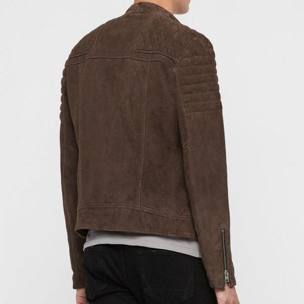 Brown Cotton Trending Jacket For Men online available,