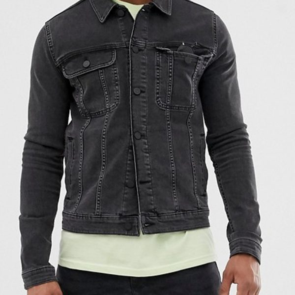 looks perfect in casual wear for denim style jacket