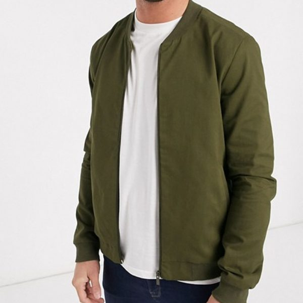 khaki jacket color in trend