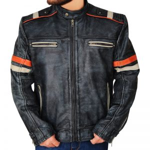 Cafe Racer Retro Jacket For Men