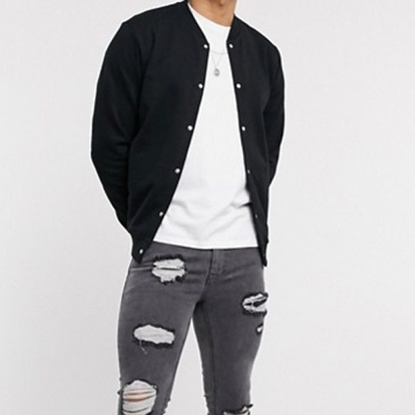 classy bomber style jacket for mens