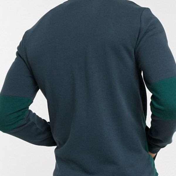 Jackets for mens in blocking bomber style is attractive in mens