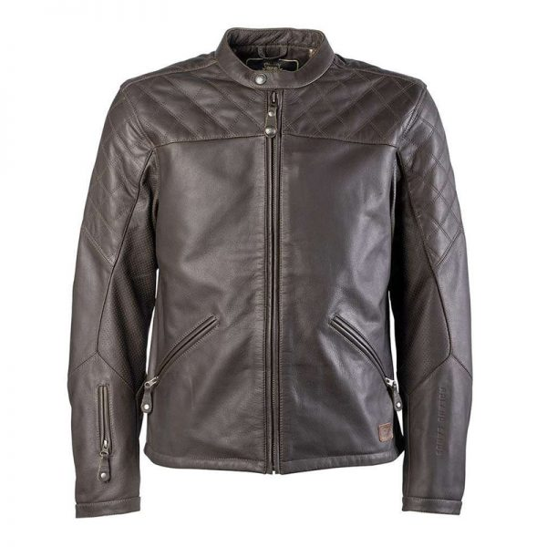 Fashionable Ronald Sands Leather Jacket Costume