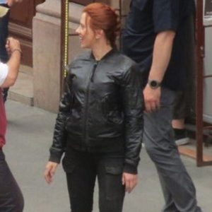 Black Widow Natasha Romanoff Jacket