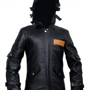 PUBG Battlegrounds player leather outfit