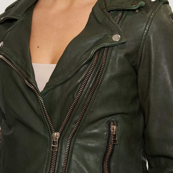 Green color outfit for women