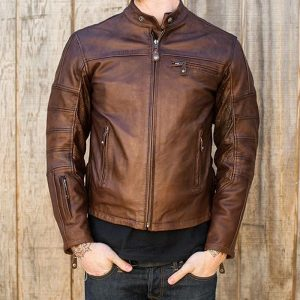 Stylish outfit for men Ronin leather jacket