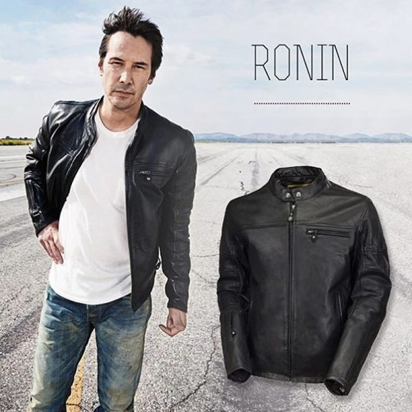 Stylish leather jacket by ronald sand design outfit style