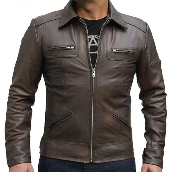 mens stylish leather jacket for trendy upcoming jackets for mens