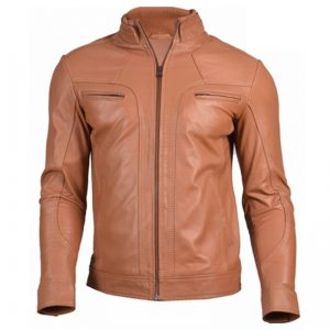 Genuine leather outwear