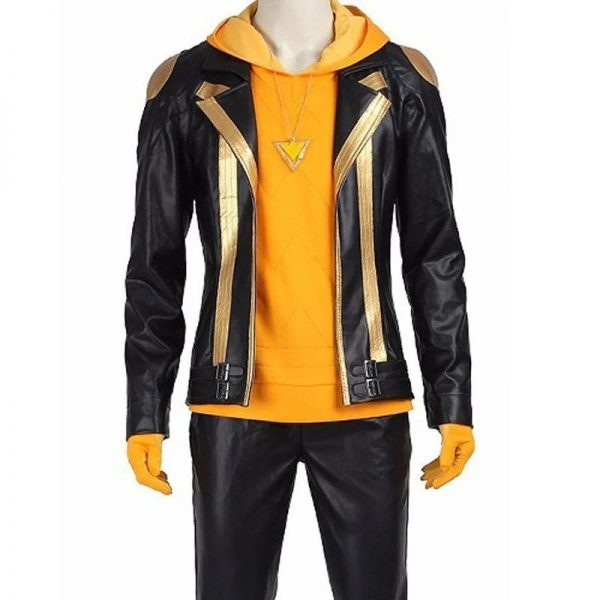 Spark character leather costume