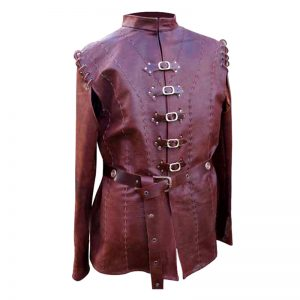 Halloween pure leather jacket