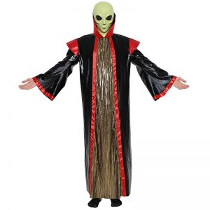 Halloween alien costume