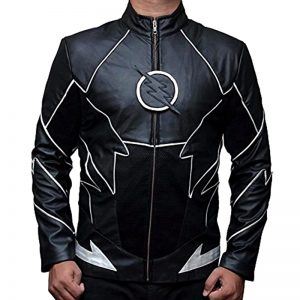 Halloween Black Zoom Flash Design Jacket