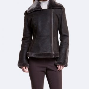 womens shearling jacket