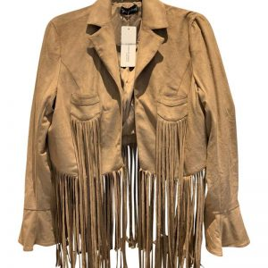 Halloween brown leather jacket outfit