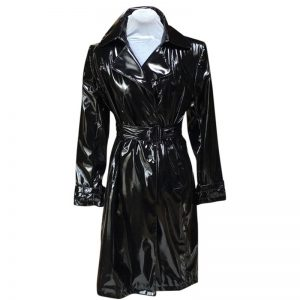 Halloween Black Polyester Cotton Jacket For Women