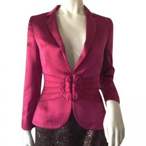 Halloween female jackets Magenta