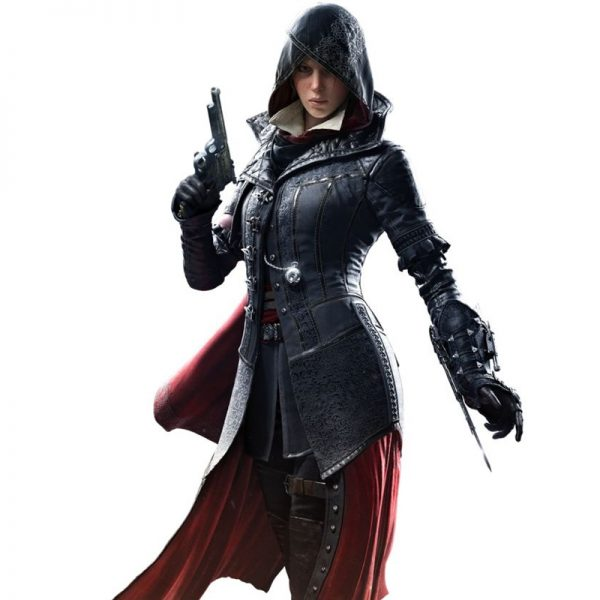 Evie Frye Leather Costume Jacket Assassin's Creed Syndicate Game