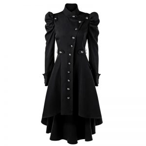 Halloween Trench Long Coat