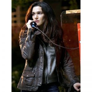 Hollywood Actress Rachel Weisz Brown Leather Jacket In The Whistleblower Movie