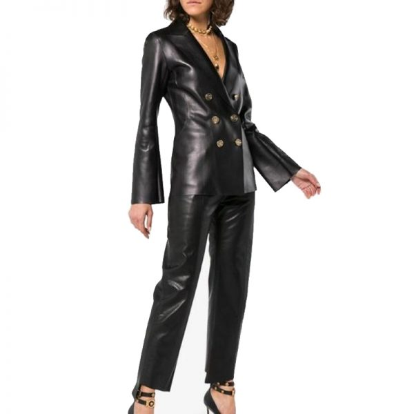 Leather Jacket Trendy Design for women