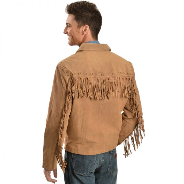 Leather Fabric Jacket for mens