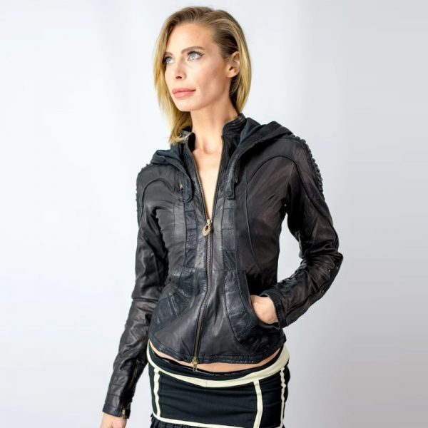 Leather Fabric Jacket for women in 2020