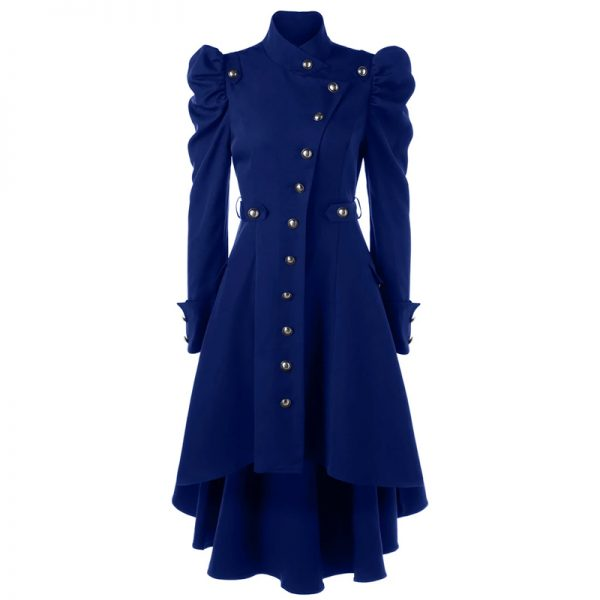 Halloween Leather trench Long Coat
