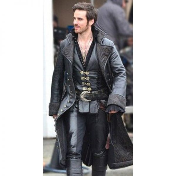 Hook Leather Long Coat In 2020