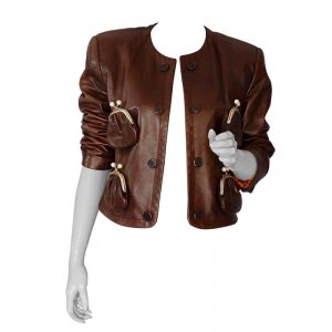 Amazing Vintage Style Brown Jacket