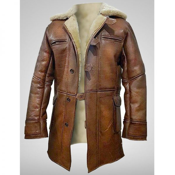 Tom Hardy Leather Jacket In Dark Knight Rises