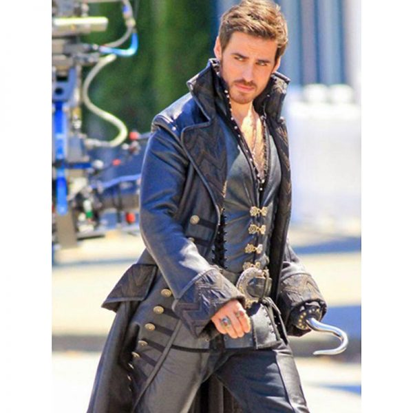 Captain Once Upon A Time Coat