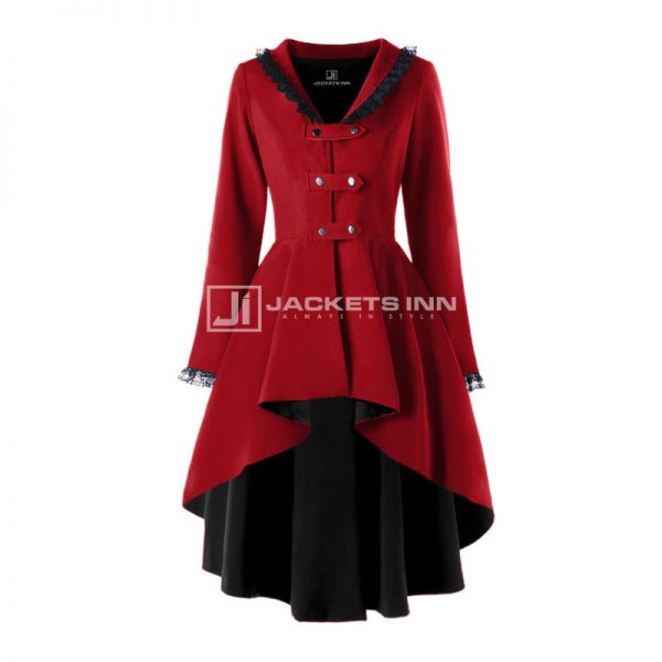 Halloween Polyester Trench Coat