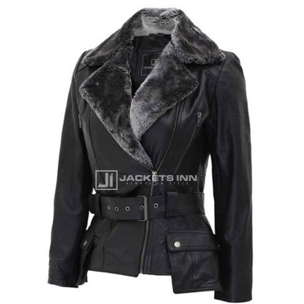 Womens_Black_Shearling_Asymm_trical_Design_Leather_Jacket