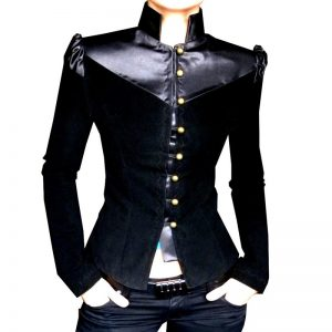 Modish women blazer in fashionable ladies style