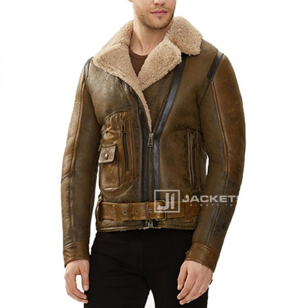 Shearling-Waxed-Brown-Leather-Fabric_2