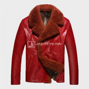 Mens_Shearling_Red_Leather_Jacket