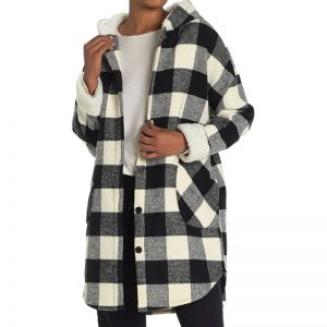 Plaid_Coat_With_Shearling_Hood