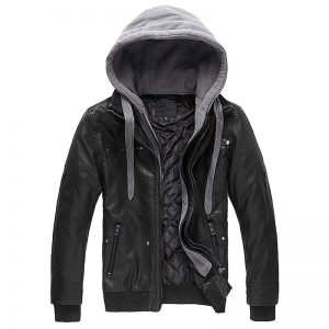 Wantdo_Men's_Lightweight_Faux_Leather_Jacket_with_Removable_Hood_Motorcycle_Casual_Vintage_Coat