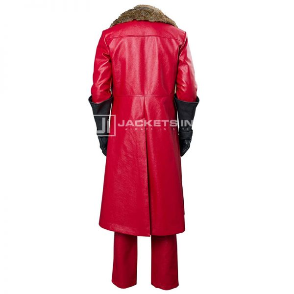 Kurt Russell Trench Coat In The Christmas Chronicles Netflix Movie