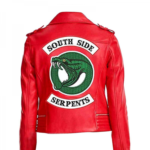 Southside Red leather jacket